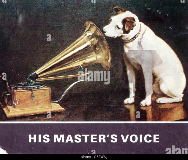 his masters voice stock photos his masters voice stock images alamy. Black Bedroom Furniture Sets. Home Design Ideas