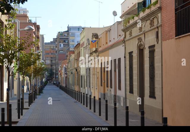 Barcelona Street Scene Stock Photos & Barcelona Street ...