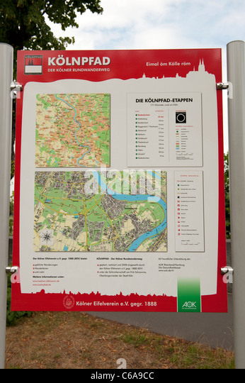 Map Of Cologne Stock Photos Map Of Cologne Stock Images Alamy - Map of koln germany