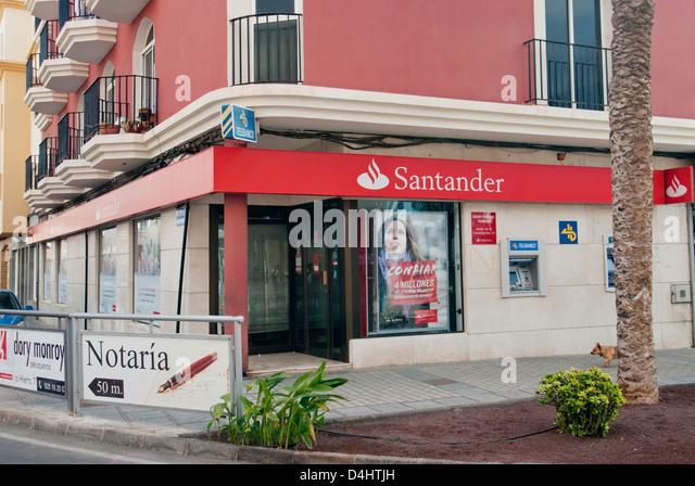 Santander bank spain stock photos santander bank spain for Banco santander sucursales barcelona