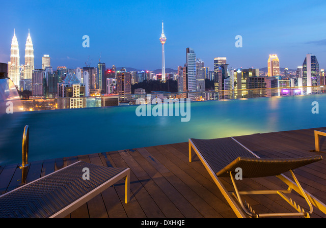 Rooftop Pool Asia Stock Photos Rooftop Pool Asia Stock Images Alamy