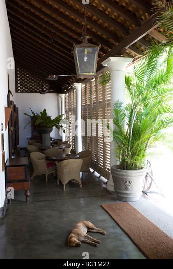 Galle Fort Hotel Sri Lanka Stock Photos Galle Fort Hotel Sri