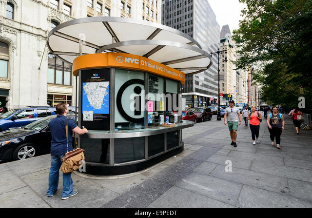 Tourist information kiosk stock photos tourist information kiosk stock images alamy - Tourist office new york city ...