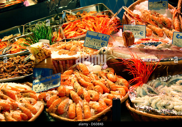 Seafood market stock photos seafood market stock images for Seafood fish market