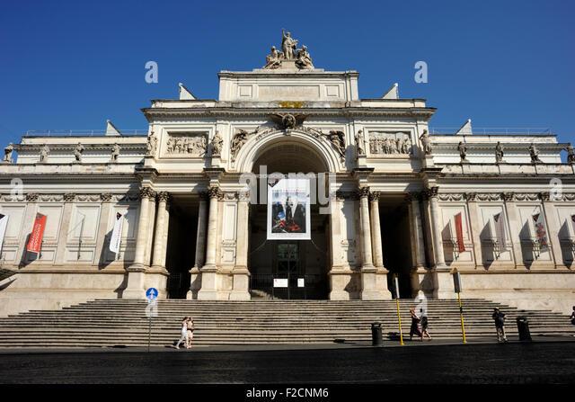 Nazionale stock photos nazionale stock images alamy for Palazzo delle esposizioni rome italy