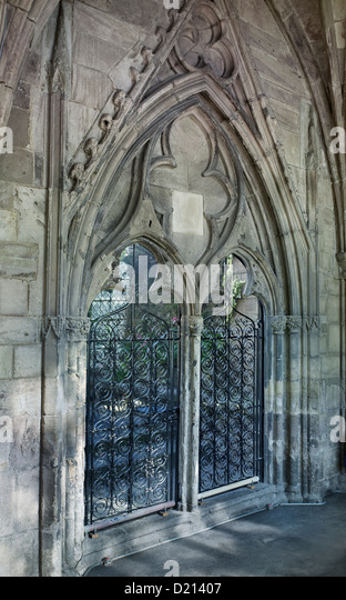 Hereford Cathedral Door To Chapter House