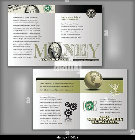Four page stock photos four page stock images alamy for Four page brochure template
