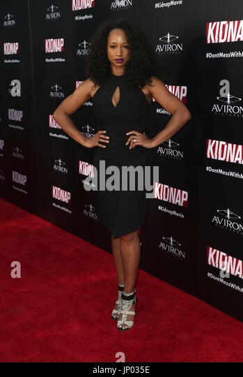 monique coleman at premiere of aviron