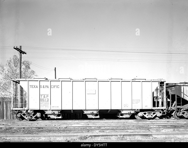 ... Hopper Car 8513, Texas & Pacific Railway Company] - Stock Image Pacific Railway Company