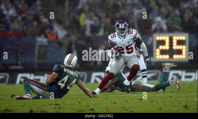 Miami Dolphins Football Player Stock Photos & Miami