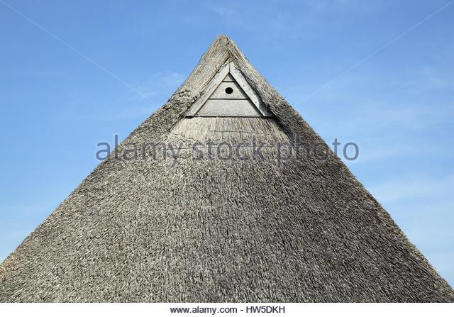 german thatched roof stock photos german thatched roof stock images alamy. Black Bedroom Furniture Sets. Home Design Ideas