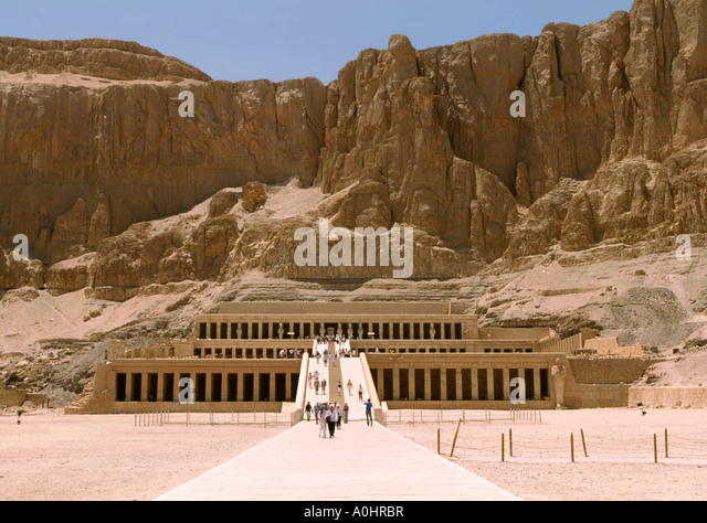 Funerary Temple Of Hatshepsut Stock Photos & Funerary ...