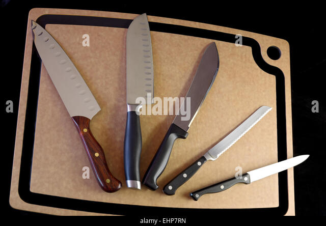 Kitchen Knife Handle Stock Photos Kitchen Knife Handle