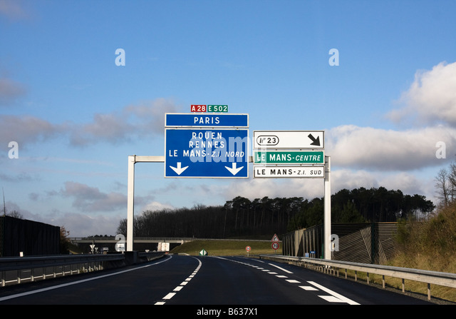 autoroute france stock photos autoroute france stock images alamy. Black Bedroom Furniture Sets. Home Design Ideas
