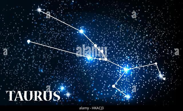 Taurus Star Sign Stock Photos & Taurus Star Sign Stock ...