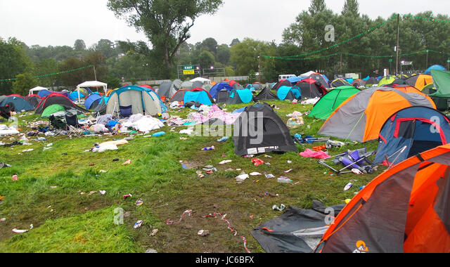 The mess that is left behind after the music festival abandoned tents and rubbish everywhere & Music Festival Tents Rubbish Stock Photos u0026 Music Festival Tents ...