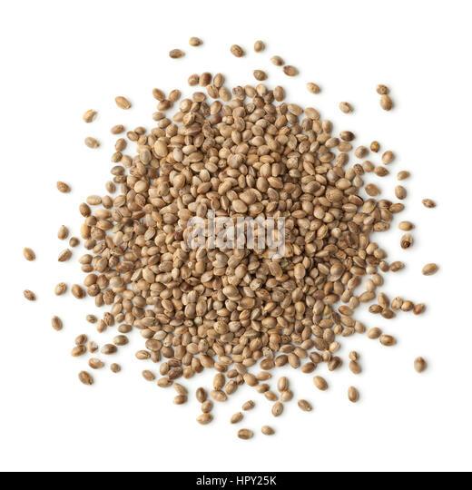 Unshelled hemp seeds