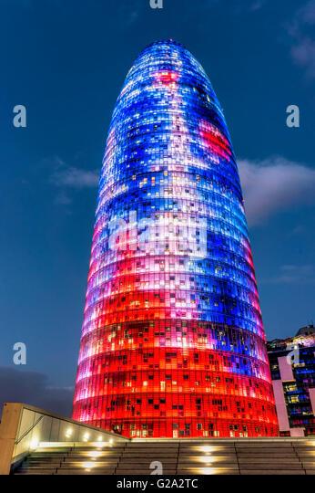 Modern Architecture Barcelona modern architecture barcelona spain stock photos & modern