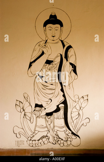 Japanese Buddha Painting