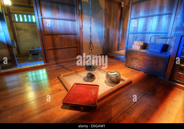 Traditional Japanese Living Room Stock Photos Traditional Japanese Living Room Stock Images