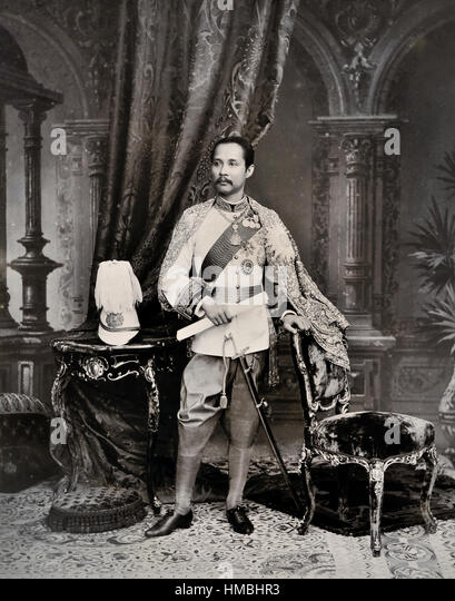 King Chulalongkorn Siam Stock Photos & King Chulalongkorn ...