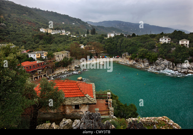 Pelion Landscape Greece Stock Photos & Pelion Landscape ...