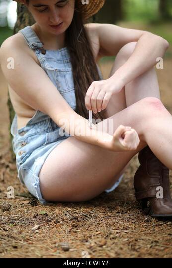 girls cigarettes Redneck smoking