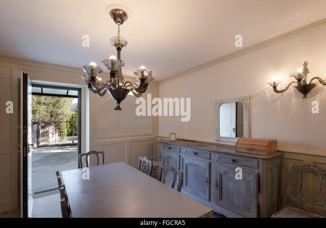 Furnished flat stock photos furnished flat stock images for Comfortable dining room ideas