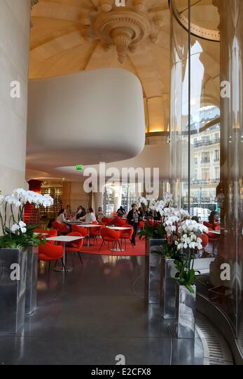 France, Paris, the Opera Restaurant designed by the architect Odile Decq in  the heart