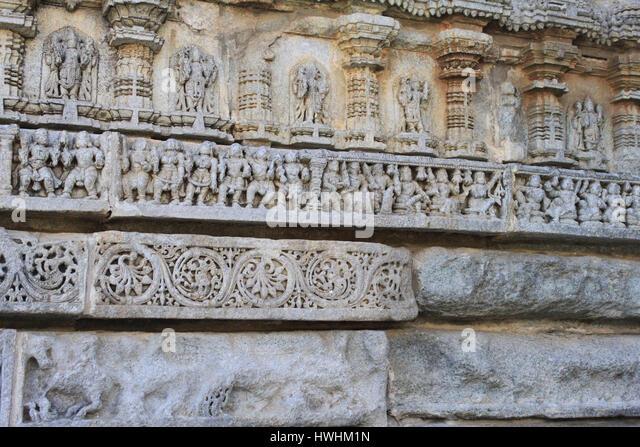 Bas relief sculptures stock photos