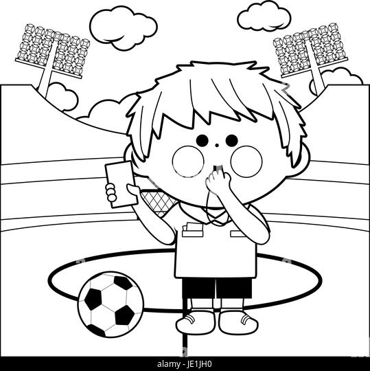 Football goal post black and white stock photos images for Football goal post coloring page