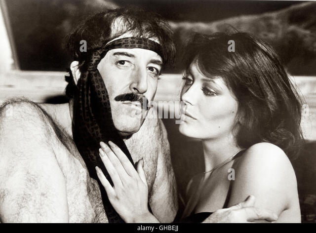 Peter Sellers Lesley Anne Down Pink Stock Photos & Peter ...