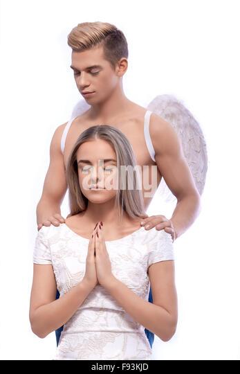 Angel girl praying stock photos amp angel girl praying stock images