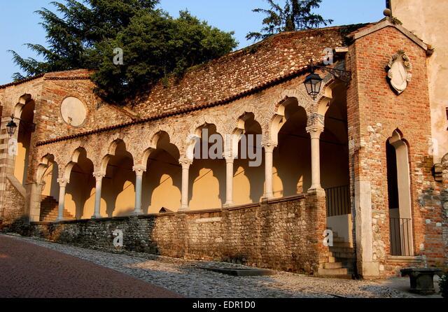Venetian Gothic venetian renaissance style stock photos & venetian renaissance