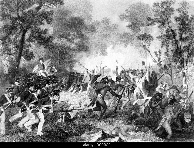 battle of tippecanoe Battle of tippecanoe, 1811 a us force under general william henry  harrison defeats native americans under tenskwatawa, the 'prophet', brother of .
