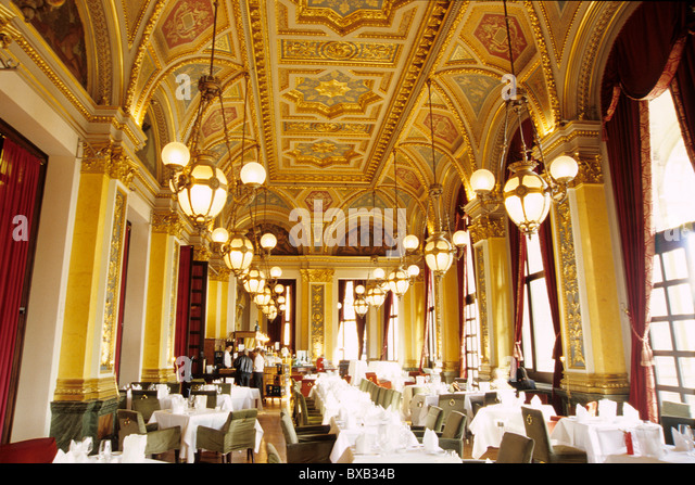 Dining Room Bar Cafe Restaurant At The Old Opera Alte Oper On Opernplatz Square