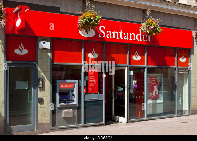 santander bank stock photos santander bank stock images alamy