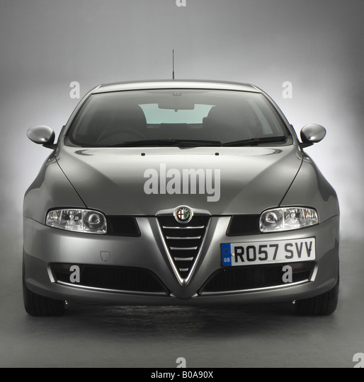 Alfa Romeo Grill Stock Photos & Alfa Romeo Grill Stock