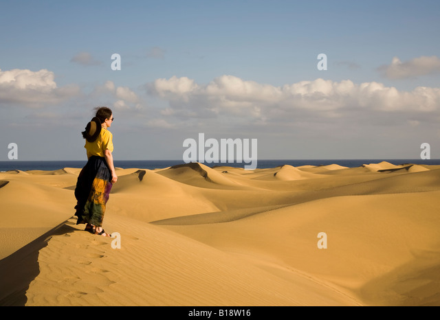 Maspalomas stock photos maspalomas stock images alamy - Standing canarias ...
