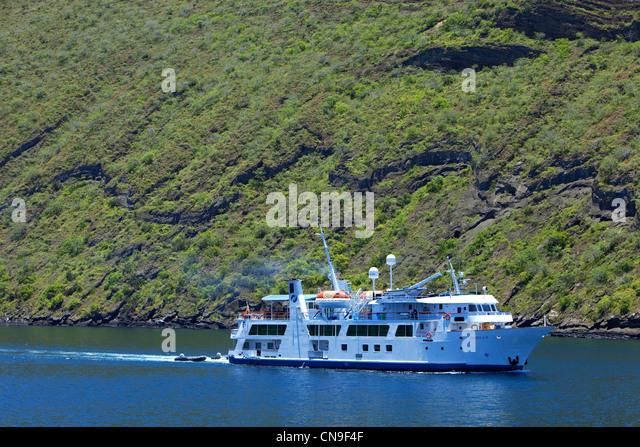 Cruise Ship Galapagos Islands Ecuador Stock Photos Cruise Ship - Cruise ships to the galapagos islands