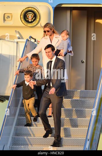 Ivanka Trump Jared Kushner Stock Photos & Ivanka Trump Jared Kushner ...