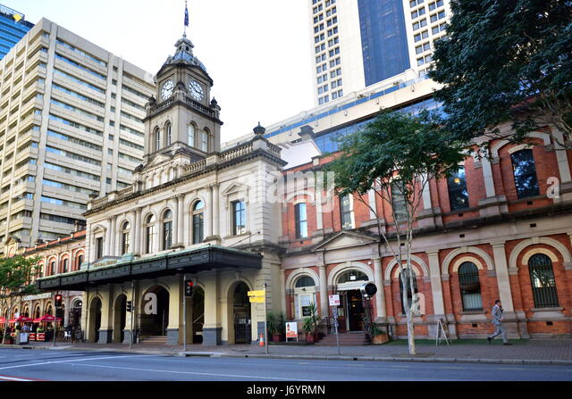 Central railway station, Brisbane, Queensland, Australia - Stock Image