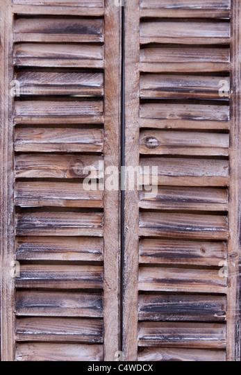 Wooden Louvre Window Stock Photos Wooden Louvre Window Stock Images Alamy