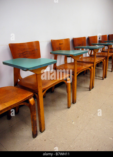 Antique School Classroom Desk Stock Photos Amp Antique