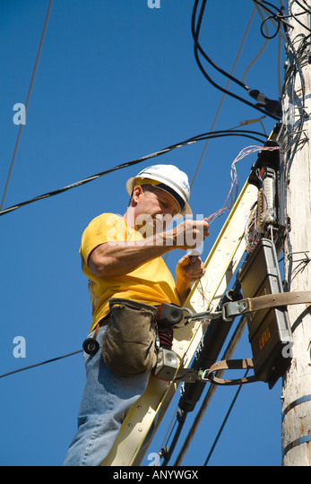 Telephone Repair Stock Photos & Telephone Repair Stock Images - Alamy