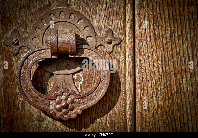 Close-up of an Antique Door Knob. - Stock Image - Antique Door Knob Stock Photos & Antique Door Knob Stock Images - Alamy