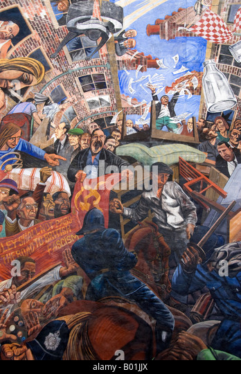 Oswald mosley stock photos oswald mosley stock images for Battle of cable street mural