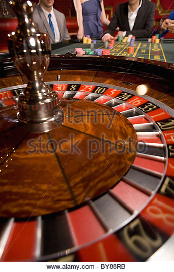 S a spinning roulette wheel at a casino salamaca casino in new york