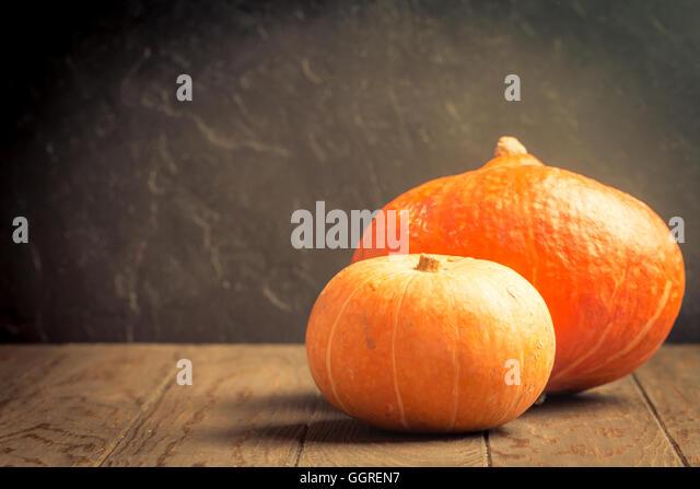 Autumn Pumpkins Rustic Background