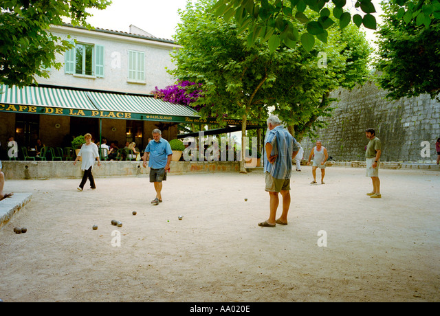 boules france south stock photos boules france south stock images alamy. Black Bedroom Furniture Sets. Home Design Ideas